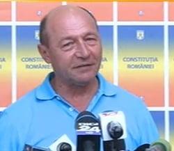 Basescu: Ponta a mutat necinstea pana la Bruxelles