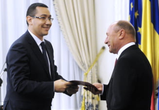 Basescu: Ponta minte, baga acciza ca sa aiba bani pentru baroni