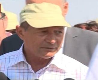 Basescu: Ponta nu-mi raspunde la telefon. E suparat pe viata!