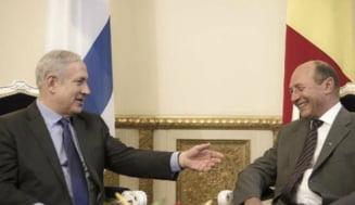 Basescu: Relatiile dintre Romania si Israel sunt excelente, dar si palestinienii sa aiba un stat