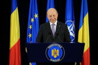 Basescu: Rogozin este nebunul regelui, un clovn cu mintea odihnita