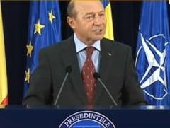 Basescu: Romanii din Siria sa plece, sa nu sune apoi la televiziuni ca nu sunt ajutati (Video)