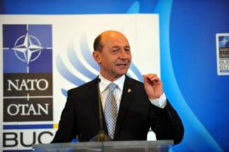 Basescu: Rusia ne este vecina, Statele Unite ne sunt partenere