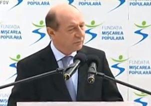 Basescu: Solutia Guvernului a fost cresterea taxelor. E ca si cum ai trage frana economiei (Video)