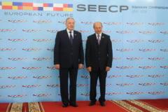 Basescu: Solutia Moldovei de a intra in UE este unirea cu Romania