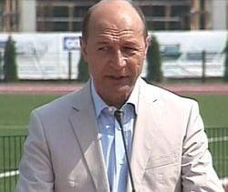 Basescu: Sportul nu trebuie amestecat cu politica
