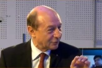 Basescu: Sunt convins ca fuziunea PDL-PNL nu e posibila. Blaga a oferit partidul la taraba (Video)