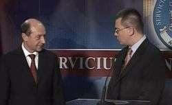 Basescu: Ungureanu va creste credibilitatea SIE