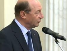 Basescu: Va multumesc ca nu v-ati saturat de Romania