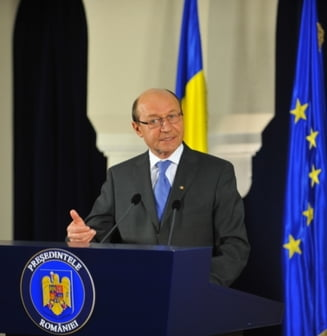Basescu, despre cum a scos tara din criza si de ce ii multumeste lui Ponta