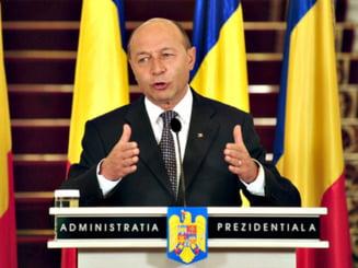 Basescu, despre desemnarea premierului: Poate sa fie propunerea oricui