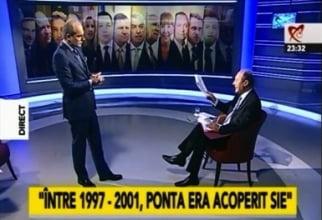 Basescu, despre dosarul uitat la Realitatea: E o copilarie, mai copii. Nu pot sa-mi uit nici fesul