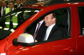 Basescu, despre escorta politiei rutiere: Vreau sa fiu un om liber, ce aveti cu mine?