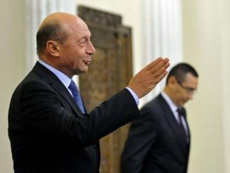 Basescu, despre plangerea penala impotriva lui Ponta: Poate la sfarsitul mandatulu (Video)