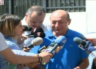 Basescu, despre un al doilea tur al referendumului: O trasnaie