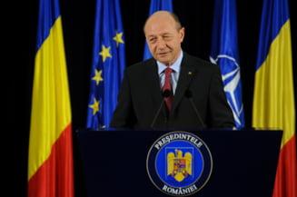 Basescu, despre unirea cu R.Moldova: Trebuie sa facem tot ce ne sta in putinta pentru a fi impreuna