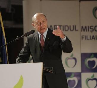 Basescu, dupa ce si-a pus partidul in cap: Parerea mea e ca o tara nu suporta doua cicluri de cate 10 ani de lupta impotriva coruptiei