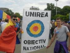 Basescu, in R. Moldova: Romania poate sustine procesul de reunificare. E timpul sa reintregim tara