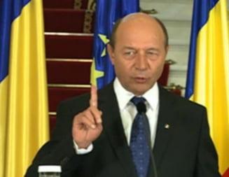 Basescu, intrebat daca depune plangere penala impotriva lui Ponta: Niciodata! (Video)