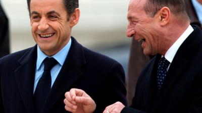 Basescu, invitat de Sarkozy in Franta