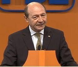 Basescu, la Conventia PDL: Am venit cu dragoste, nu sa sustin un candidat