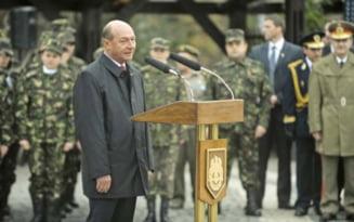 Basescu, la bilantul Armatei: Ne intrebam ce urmeaza dupa Crimeea