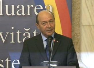 Basescu, la bilantul MAI: Viata politicienilor infractori e grea cand institutiile isi fac treaba (Video)
