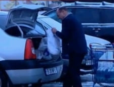 Basescu, la hypermarket: S-au scumpit lactatele si zarzavaturile