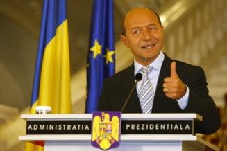 Basescu, reintors la Cotroceni - care este primul sau mesaj