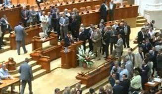 "Basescu, suspendat: Popoviciu si Prigoana au absentat de la vot, nedorind ""circ"""