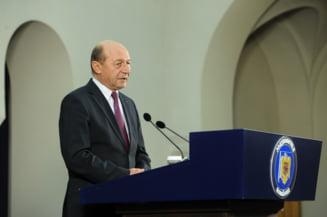 Basescu, teme de campanie pentru partide: Sa aiba grija la lege, inchisoare de la 1 la 5 ani