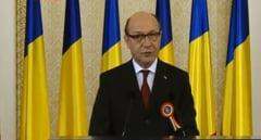 Basescu, ultimul discurs de Ziua Nationala, cu lacrimi in ochi