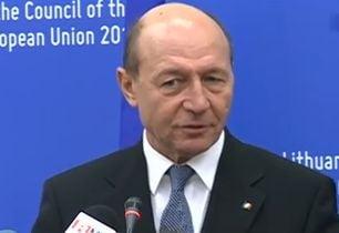Basescu, vizita fulger la Chisinau: O buna ocazie sa le spunem ca ii asteptam cu drag in UE