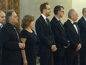 "Basescu a decorat mai multi intelectuali, ""in numele natiunii"": Patapievici, printre ei (Video)"