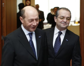 Basescu a discutat cu Boc despre seceta