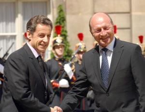 Basescu a discutat cu Sarkozy despre R. Moldova