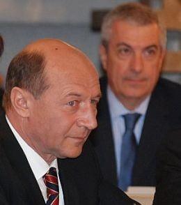 Basescu a discutat intre patru ochi cu Tariceanu