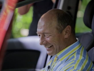 Basescu a testat noua Dacia Logan MCV - Afla ce impresii i-a lasat masina