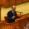 Basescu a vorbit in Parlament despre importanta Schengen. Alesii n-au fost impresionati
