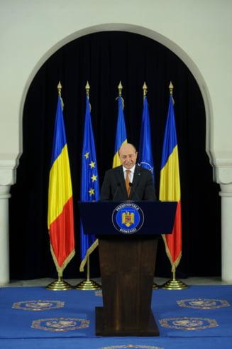 Basescu acuza Guvernul si Parlamentul: Sunt corupte, nu lasa justitia libera! (Video)