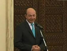 Basescu acuza guvernantii de lasitate in cazul Rosia Montana, la juramantul lui Korodi