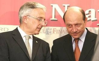 Basescu bate palma cu bancile austriece sa nu-si retraga banii din Romania