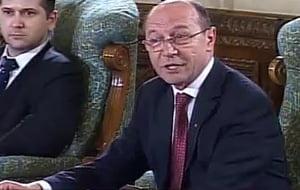 Basescu catre Ponta: Puteati sa il luati pe Nastase, doar sunteti procuror!