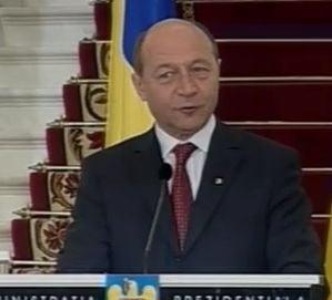 Basescu cere Parlamentului reexaminarea legii care interzice exportul de gaze