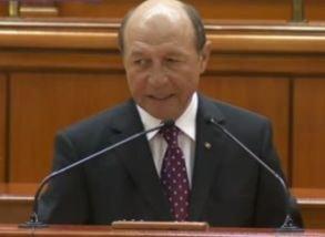 Basescu cere sa se adreseze Parlamentului pe tema Schengen