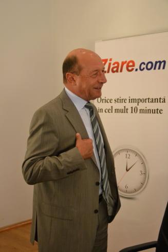Basescu critica vizita lui Iohannis din Ucraina: Trebuia sa se intalneasca cu romanii (Video)