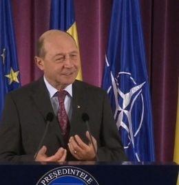 Basescu despre fondurile europene: La stadiul cum suntem acum, ne calificam pe podium
