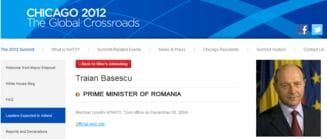 Basescu este premierul Romaniei - NATO