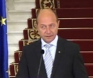 Basescu i-a cerut lui Barroso asistenta pentru pregatirea formei finale a Legii ANI
