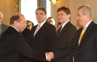 Basescu i-a dat doua zile lui Tariceanu sa renunte la postul de premier